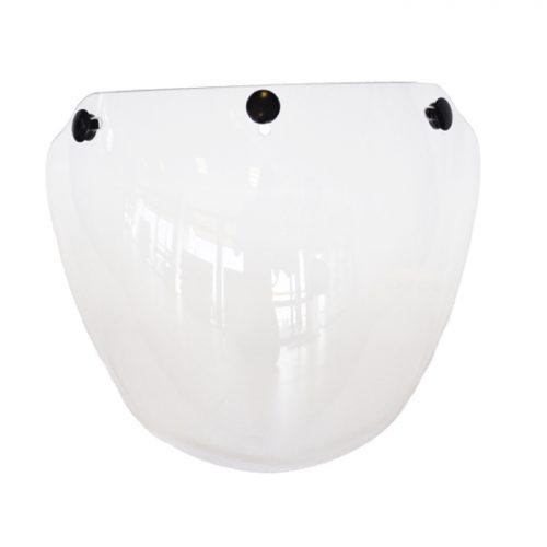 3-button visors for jet helmet