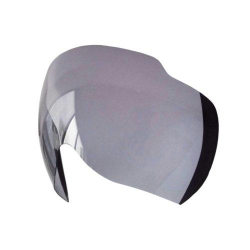 Bike helmet visor