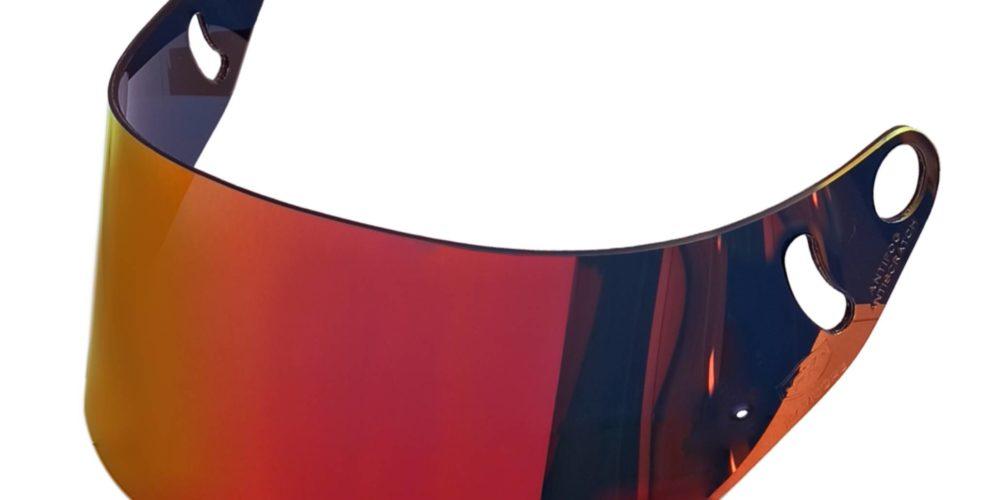 Visor compatible with ARAI GP-6, GP-6 RC, GP-6K, GP-6S, SK-6 helmet